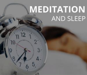 meditation and sleep post