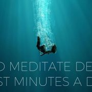 How To Meditate Deeply In Just Minutes A Day Featured