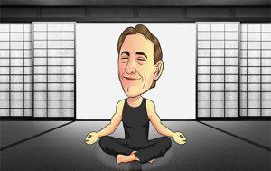 michael meditating